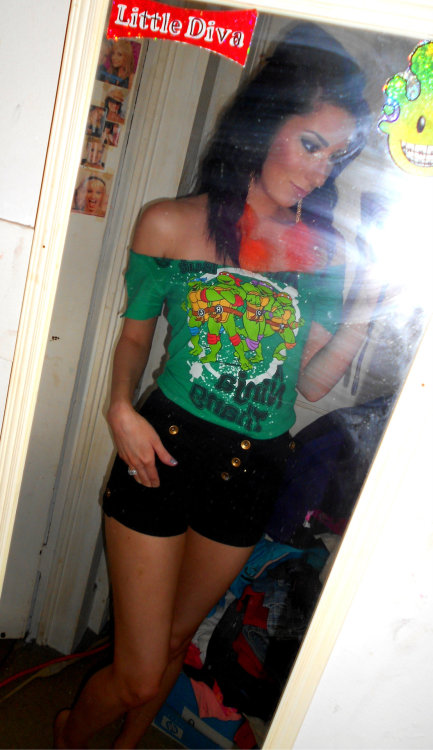 Rockin' the ninja turtles :p