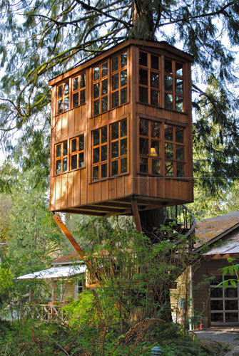 (via Treehouses of Treehouse Point - Trillium)