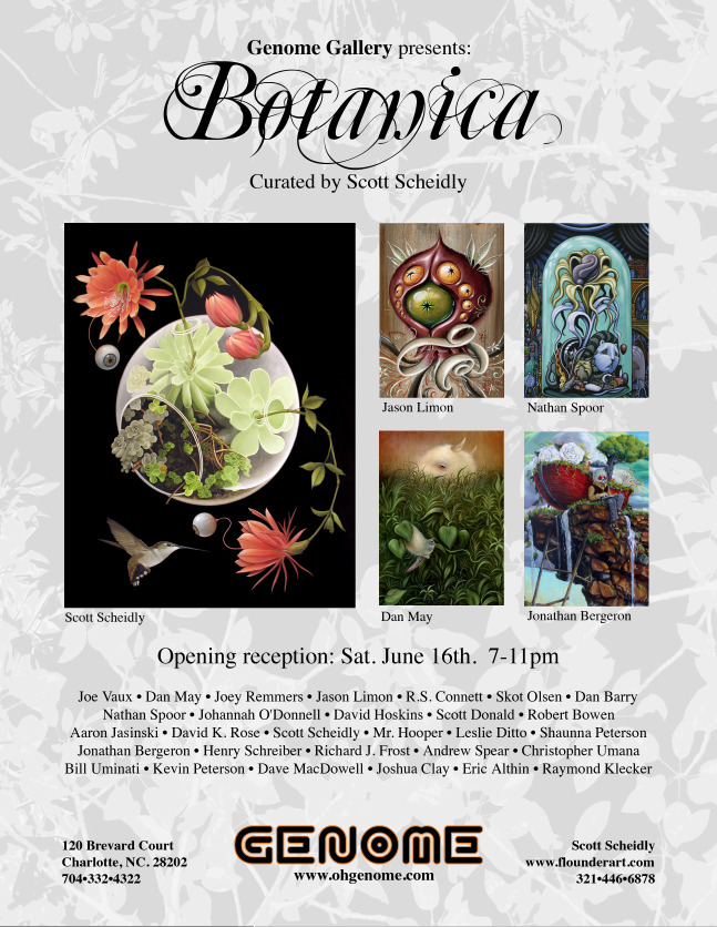 Botanica Group Show 6/16 @ Genome Gallery