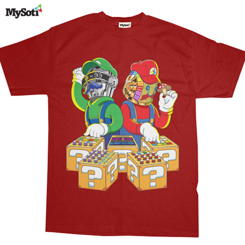 Super Punk Bros. t-shirt on MySoti. Check it out at: http://www.mysoti.com/mysoti/designer/DoomCMYK