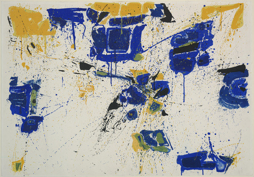 Sam Francis, The Upper Yellow1960