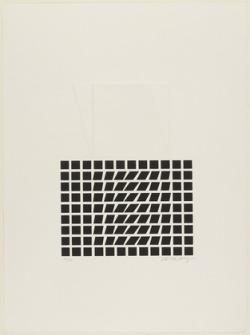 rhapsodical:  Victor Vasarely, Sign 131960