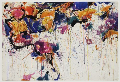 Sam Francis, Untitled1958