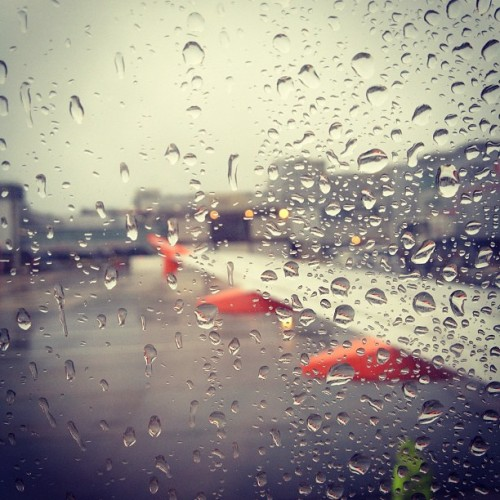 Bye bye rain! (Taken with Instagram at South Terminal)