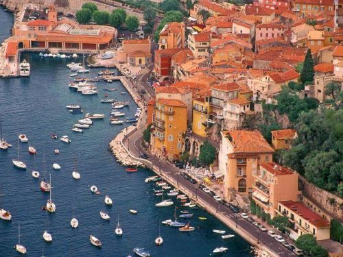 Villefranche Harbor, France