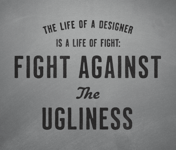 by9:  Fight against the ugliness