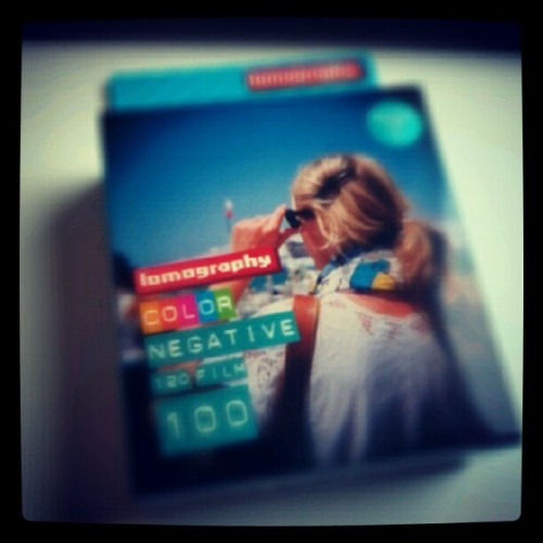 chwggm:  Just bought this #lomography #120mm #film from #orestore #surabaya #lomo #instagram #instadroid (Taken with Instagram)