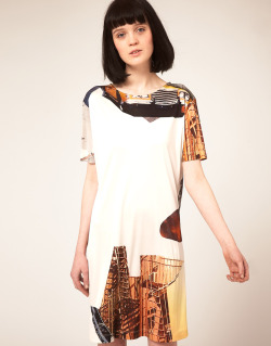 Louise Amstrup Jersey Dress in Brooklyn PrintMore photos & another fashion brands: bit.ly/Jlk6ua