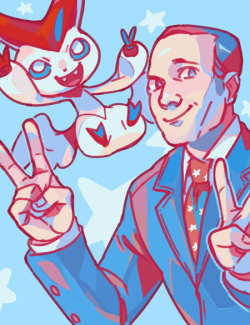 bananasandguavas:  bonus!! coulson and (shiny) victini thanks for sticking around guys! this series was a ton of fun to do