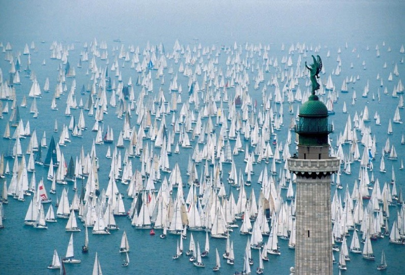 tredicielupo:  The Barcolana regatta in Trieste