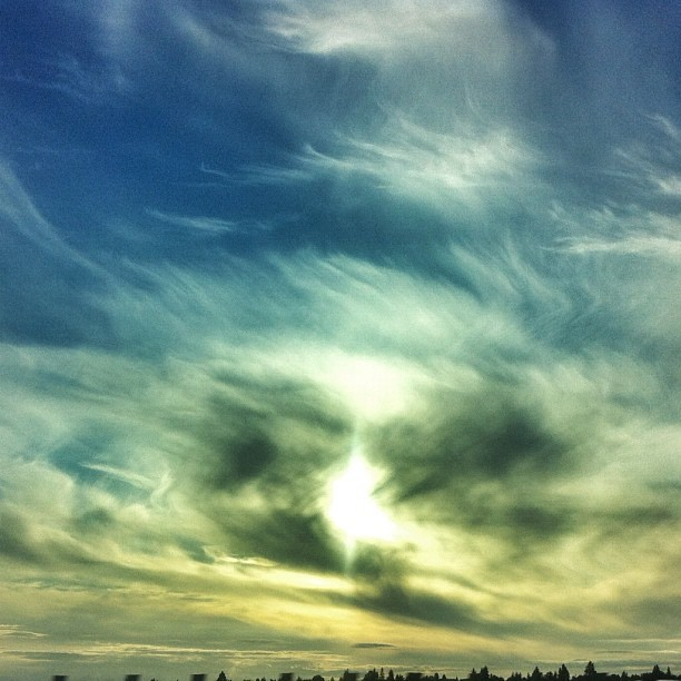 #trippy #seattle #sunset (Taken with Instagram)