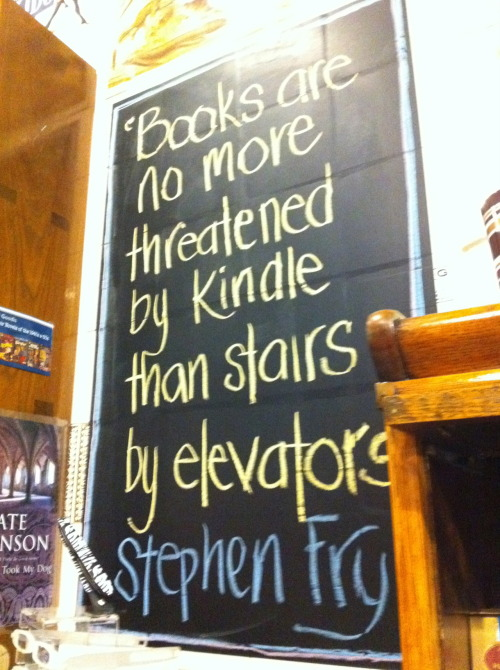 eternallyeccentric:  Wise words from a quirky little bookstore in Circular Quay open at 11pm one Friday night :)