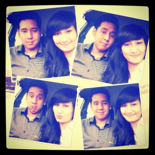 happy 3rd anniversary, @mahendradimas :3 stay cute, stay handsome! Love ya;-) #us #3rdAnniversary #love #cute #mine #instago (Taken with Instagram)