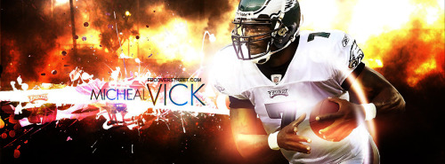 Michael Vick Facebook Cover