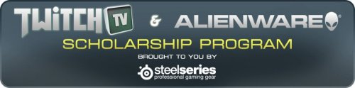 Together with TwitchTV and Alienware, we're psyched to be able to give a handful of you the opportunity for balancing a higher education with a tough day-to-day gaming schedule. 5x $10,000 scholarships being granted this year. Grab yours. Read more and apply here: www.twitch.tv/p/scholarship.
