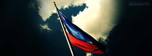 Philippine Flag Photograph Facebook Cover