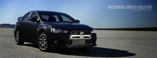 Lancer Evolution Facebook Covers