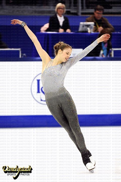 Carolina Kostner Worlds 2012