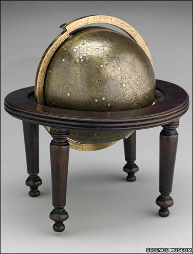 thestuartkings:  Arabic celestial globe 17th Century