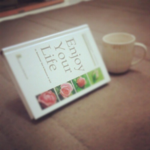 Enjoy Your Life - Dr. Al-'Arifi #book #english #translation #recommended #instabook # instagood (Taken with Instagram)