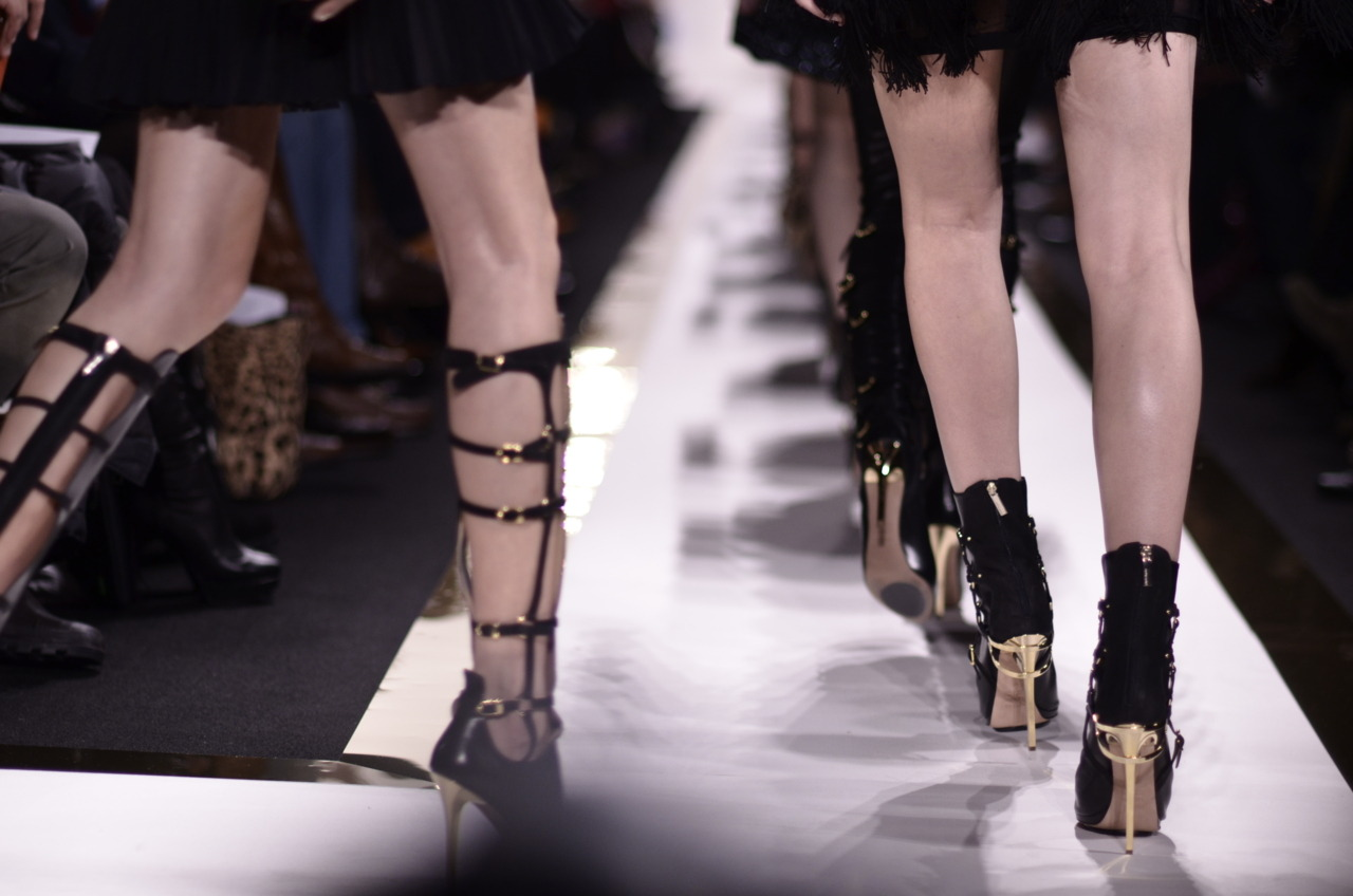 Thinking about Fashion Week…. Herve Leger F/W shoes.