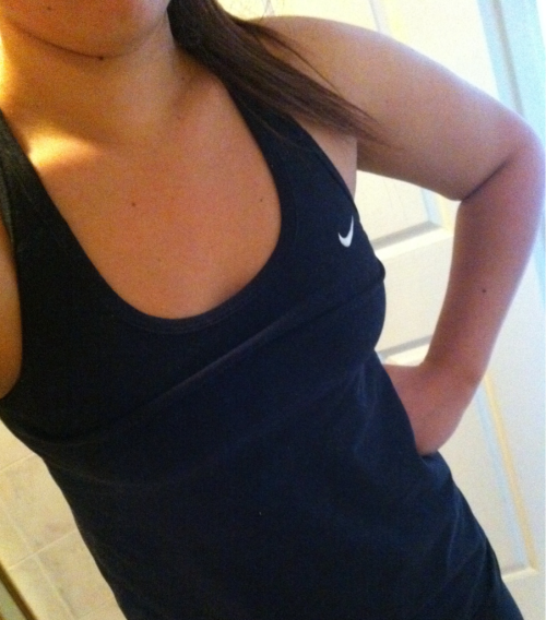 My new Nike Dry Fit Top. I love it!