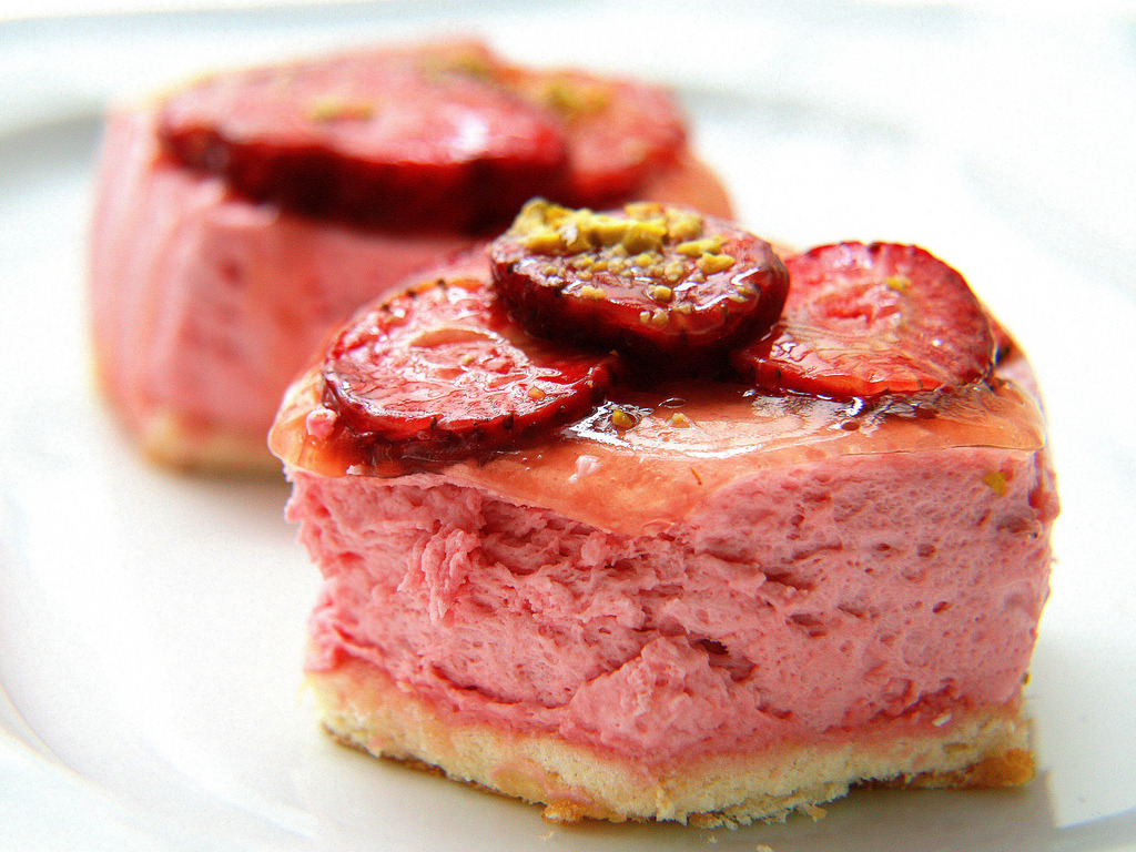 Strawberry tartlet