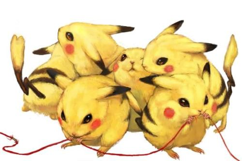 insteadofdeath:   Pokemon. Realistic Pokemon by totoまめ  DED OF KYOOT