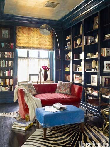 Bohemian library (via For the Home )