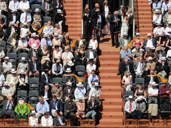 EEROZ of the day at Roland Garros…  source