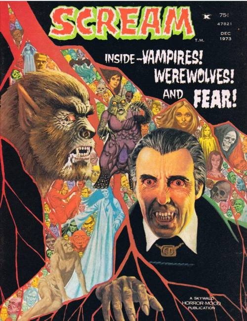 rcmerchant:  an issue of Skywald Pub.s SCREAM magazine from 1973