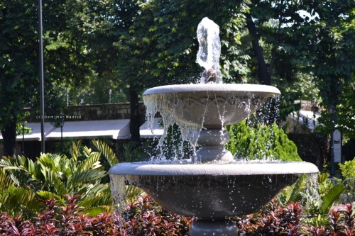 The Fountain M A N I L ALocation: Fort Santiago, IntramurosTaken by: Demimar Madrid©June2012