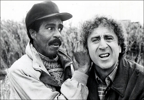 Richard Pryor and Gene Wilder - Happy birthday Gene!