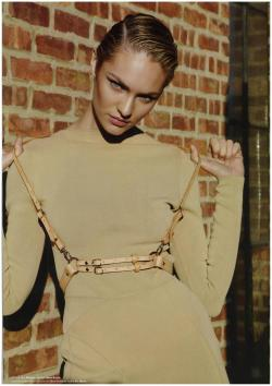 #Mugler neoprene knit top and skirt in @MUSE_mag , @formichetti @sebastienpeigne