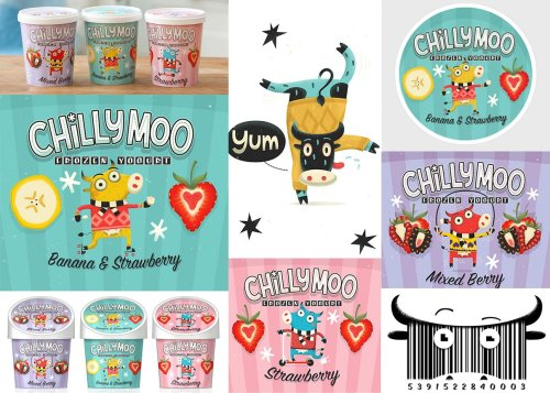 Chilly Moo hit the shelves (frozen cabinets) last week! http://www.behance.net/gallery/Chilly-Moo/4168161