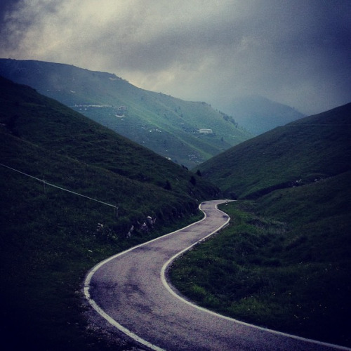 Reason #1478 why I love Monte Grappa - this spot. by smashred on Flickr.Roads to ride.