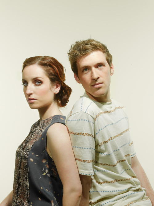 leetowndrow:  Zoe Lister-Jones and Daryl Wein. Time Magazine, June 18 2012 issue.