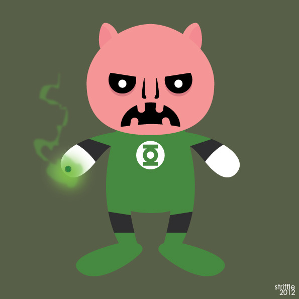 Almost Daily Characters: Kilowog