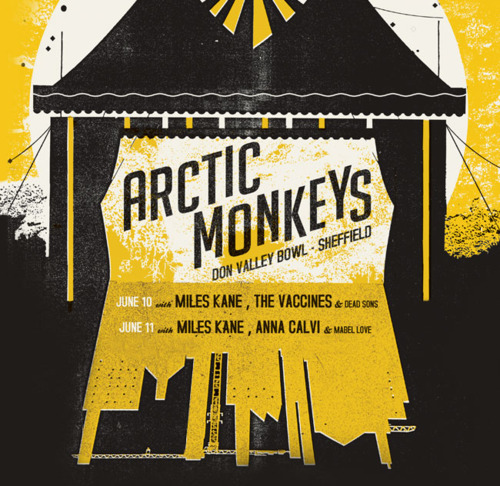 And the reminiscing continues with this bootleg…  Download: Arctic Monkeys, live at Don Valley Bowl, Sheffield (10 and 11 June 2011) + [setlist]