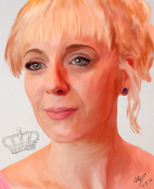 cumbercrieff:  My digital art piece of for the Amanda Abbington project.  This is absolutely fantastic! Great Work :)