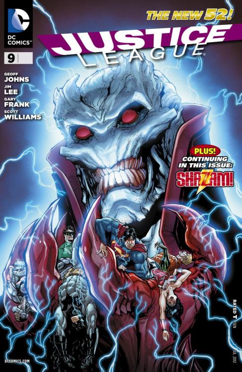 What I'm reading now: Justice League #9