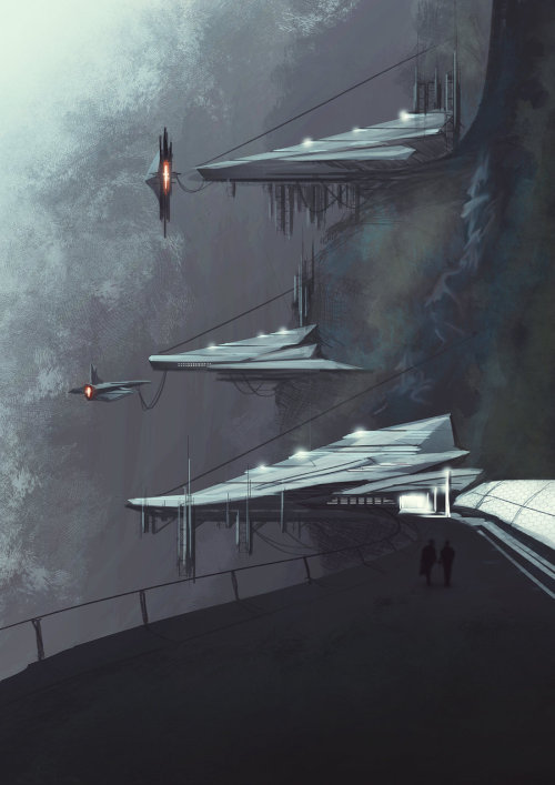 motherfuckinscifi:  Speed Painting by Long Pham