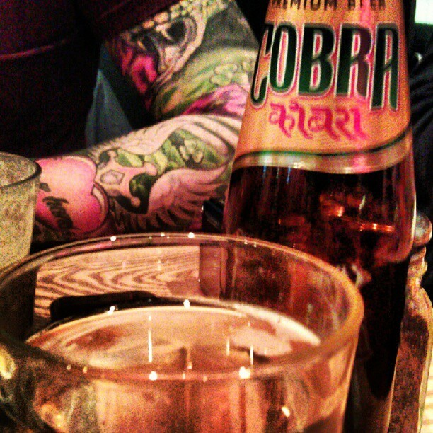 Beer of the week on Carnaby St (feat. Jake's sleeve) (Taken with Instagram at Carnaby Burger Co)