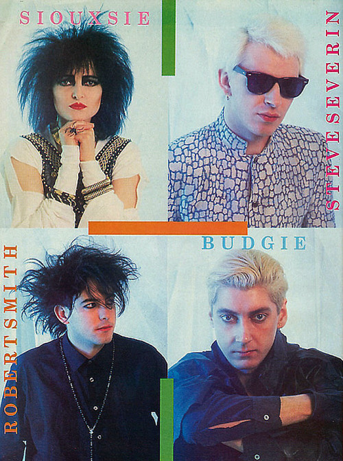 darkwavefashion:  Siouxsie And The Banshees
