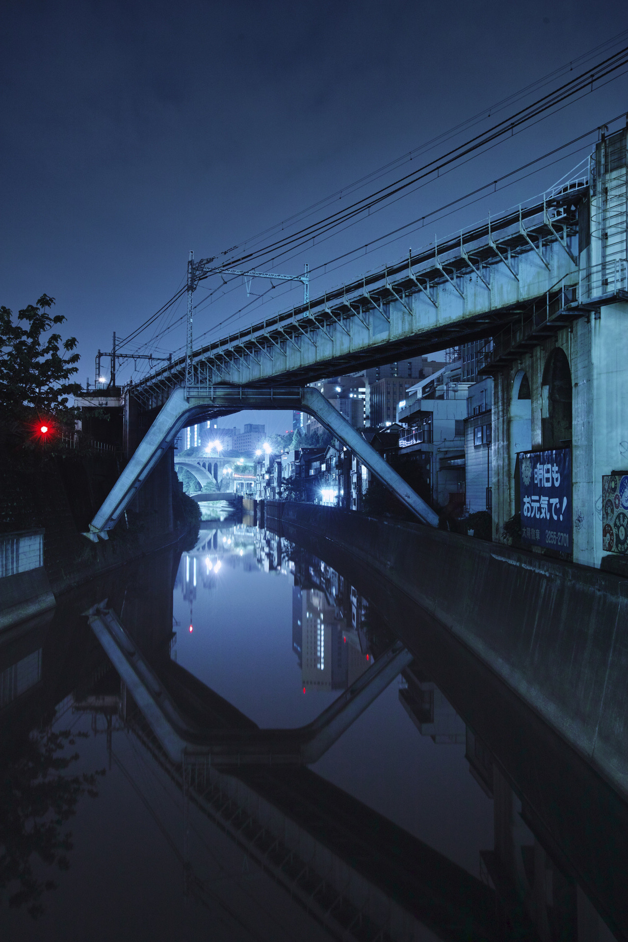 ak47:  Kanda River: View from Shohei Bridge (via guen-k)