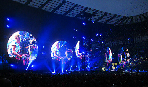 Coldplay @Manchester, June, 2012