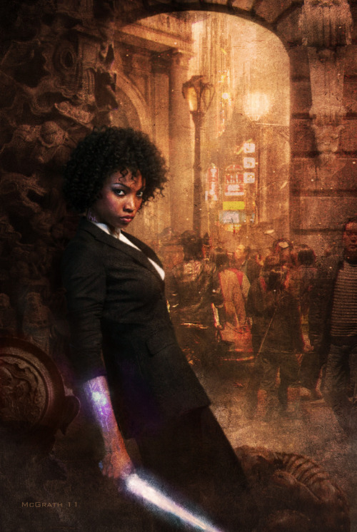 (via shewolfreads - Interview with Chris McGrath, artist of Dresden Files, Thieftaker, Three Parts Dead, and more)