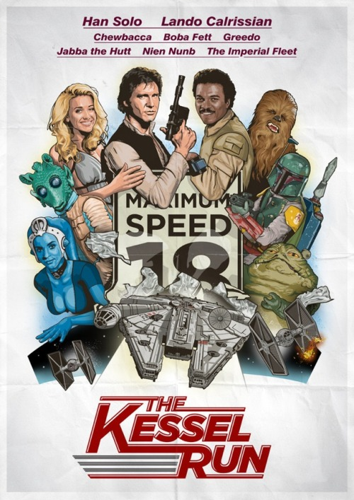 laughingsquid:  The Kessel Run, A Stars Wars Themed Spoof of The Cannonball Run