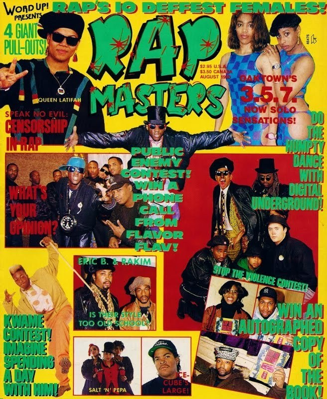 Word Up! Presents Rap Masters - August, 1990