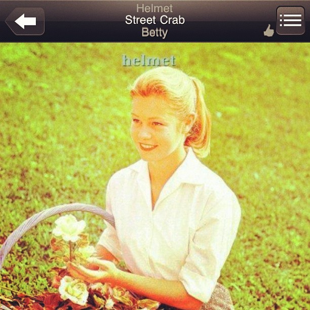 Now Playing Helmet-Street Crab (Taken with Instagram)